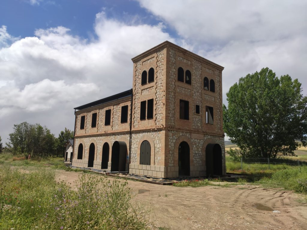 Foto de Apeadero de La Melgosa, en rehabilitación actualmente.
