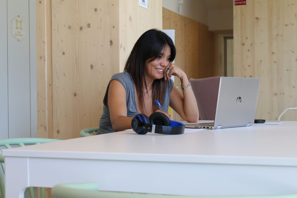 Foto de Marina Arjó, psicóloga